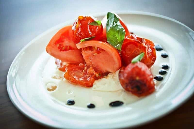 6 Tomato Caprese Salad - Entrees