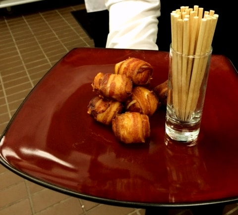 Bacon Wrapped Scallops - Butlered Hors d'oeuvres
