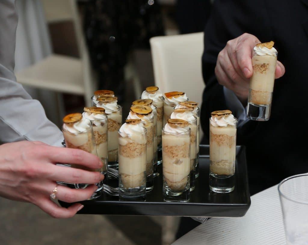 Banana Cream Pie Shooters 1024x815 - Butlered Desserts