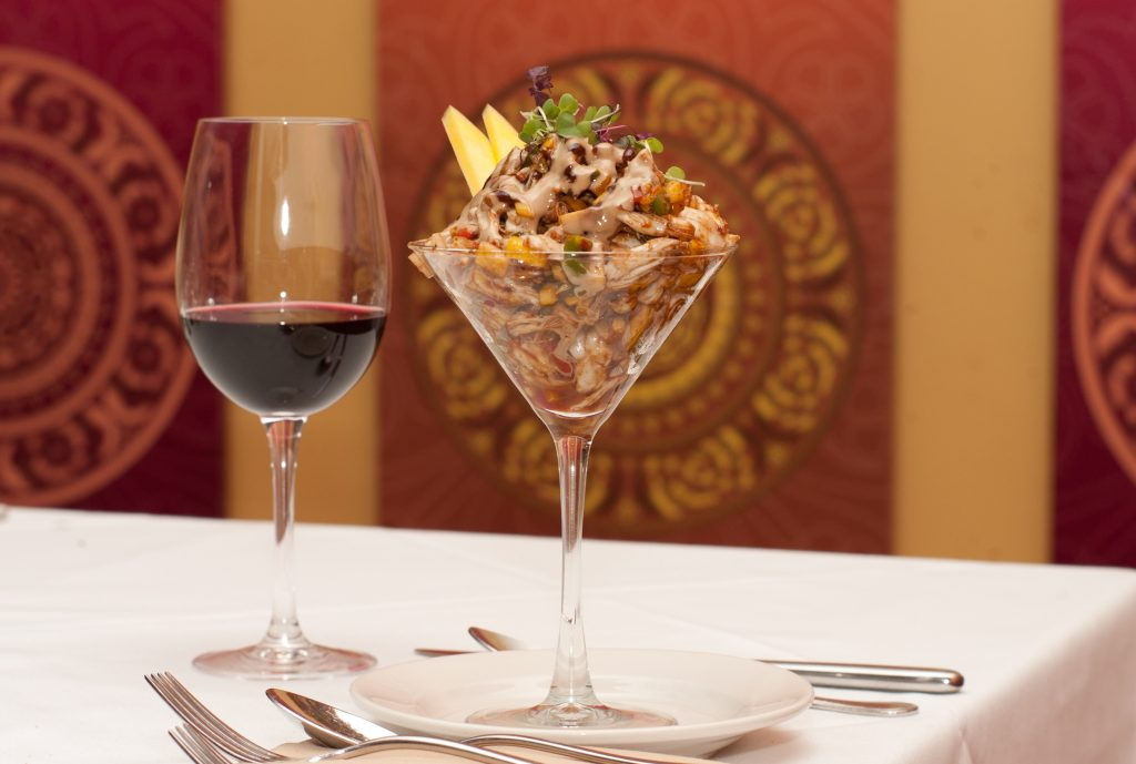 Crab Chaat 1024x689 - Mantra Catering