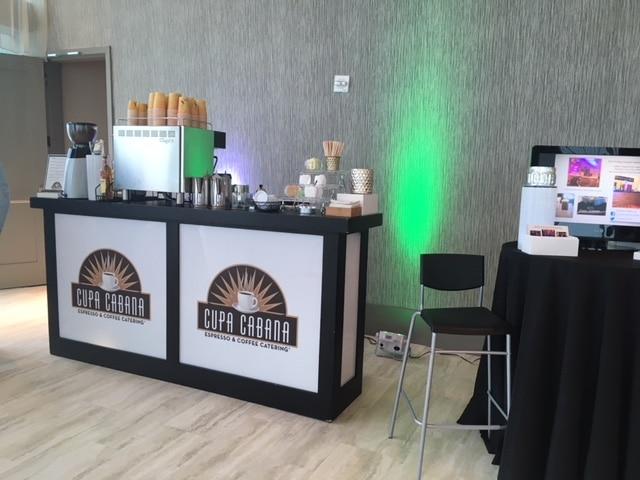 Cupa Cabana Coffee Display - Stations