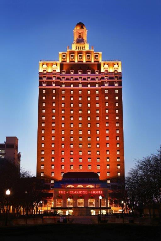 Dusk Exterior - The Claridge Hotel