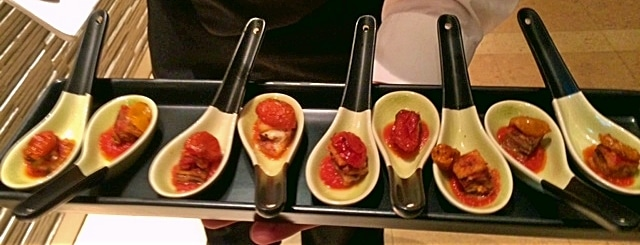 Eggplant Parm Spoons - Butlered Hors d'oeuvres