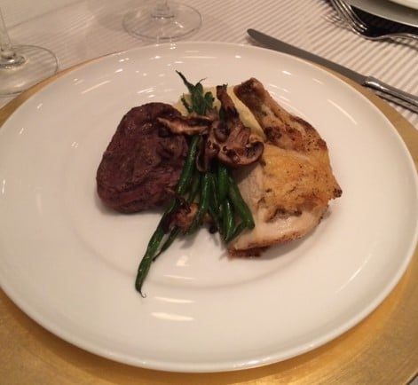 Filet and Chicken breast - Entrees