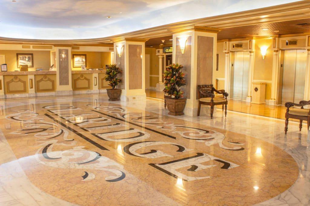 Grand Lobby 1 1024x683 - The Claridge Hotel
