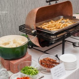 Mashed Potato   French Fry Display - Stations