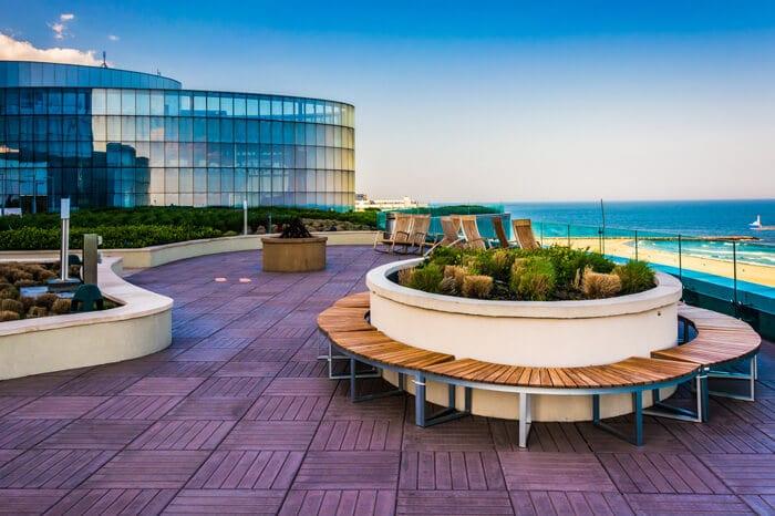 Skygarden front view - Ocean Resort Casino