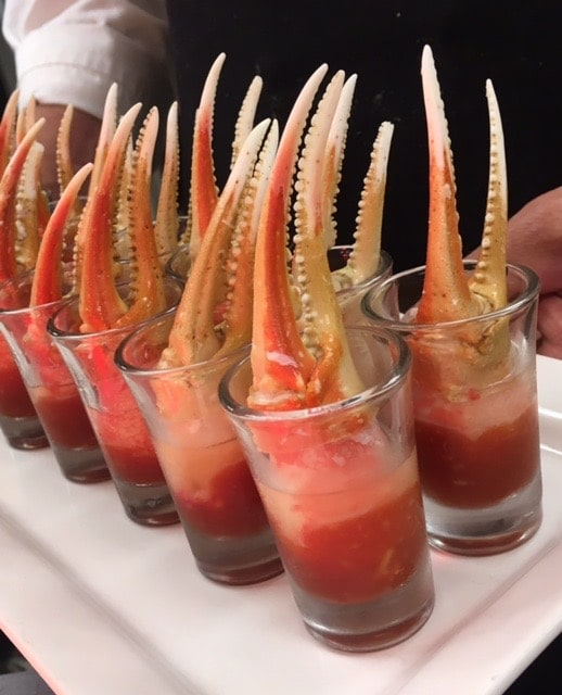 Snow crab claws - Butlered Hors d'oeuvres