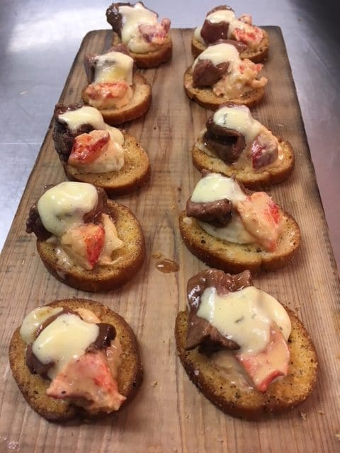 Surf   Turf rotated - Butlered Hors d'oeuvres