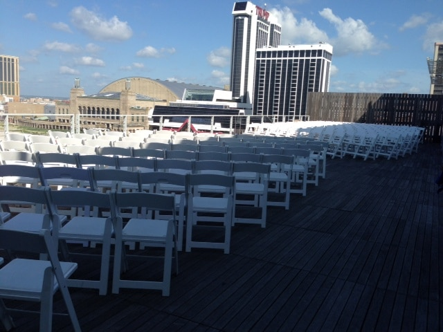 Terrace Wedding for 200 - Terrace