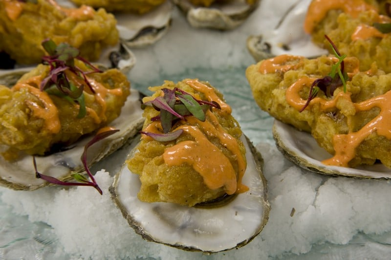 fried oysters 2 - Butlered Hors d'oeuvres