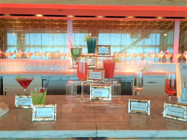 Signature Cocktail display - Bar & Cocktails