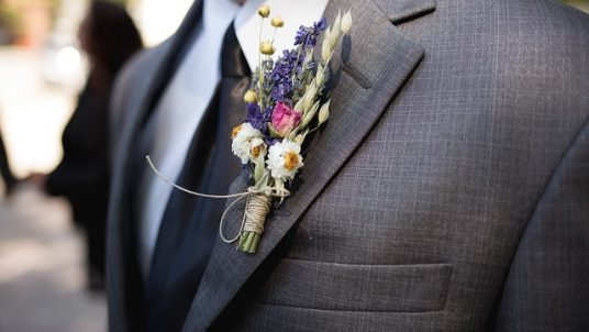 boutonniere 2160398 640 1 536x302 - What is a Groomsman's Job?